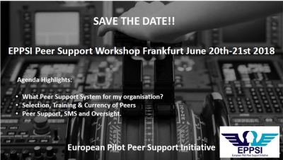 EPPSI Peer Support Workshop Frankfurt