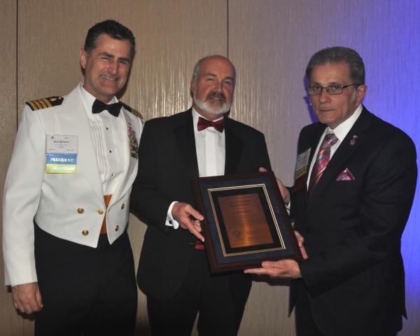 Kevin Herbert, M.B.Ch.B., D.Av.Med., Receives Tamisiea Award